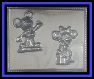 NEW ***Large MICKEY & MINNIE MOUSE*** Candy mold #219