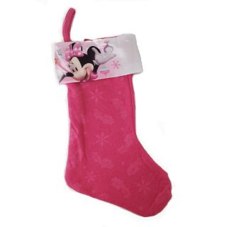 Licensed Disney Minnie Mouse Bowtique 18 Felt Christmas Stocking