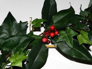 MIXED FOLIAGE GARLAND 6FT Ivy Mantle Christmas Holiday Greenery Floral