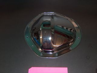 NEW 12 BOLT GM CHEVY TRUCK AXLE REAREND CHROME COVER
