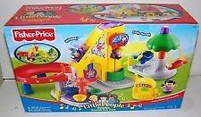 Fisher Price Little People Surprise Sounds Fun Park with Box