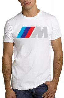 BMW M T Shirt Car Logo M Power M3 M5 M6 Tee *ALL SIZES & NEW*