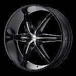 22 Inch Black Rims Wheels Chevy Tahoe Suburban Silverado GMC Yukon