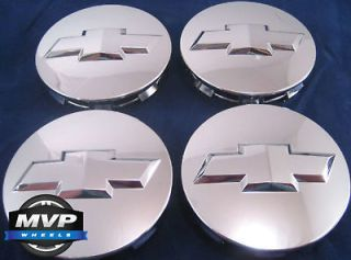 Chevy Silverado Tahoe Avalanche Suburban 20 22 Chrome Center Caps