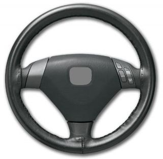 BMW M3 E46 WHEELSKINS GENUINE LEATHER STEERING WHEEL COVER (Fits BMW)