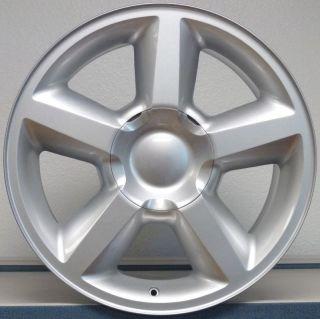 20 Chevy Tahoe LTZ Sliverado Tahoe Rim Wheel Silver