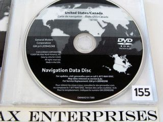 Update 2006 2007 2008 2009 2010 2011 Cadillac DTS Navigation DVD Map