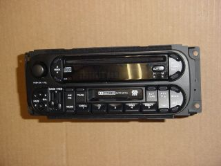 02 06 Dodge Ram Caravan Stratus Chrysler PT Jeep Radio CD/TAPE Player
