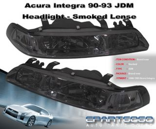 Acura Integra on Acura Integra Da Black Headlights Ls Gs Rs Gsr 91  Fits  Acura Integra