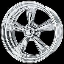 15x7 TORQ THRUST II Wheels Rims for OLD SCHOOL General Motors 5x4.75