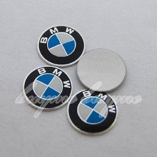 14mm 4PCS 3M Emblem Logo Sticker for BMW Remote Key Fob