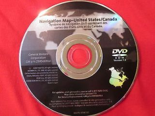 GM Navigation Map Disc DVD 225956691 U on PopScreen