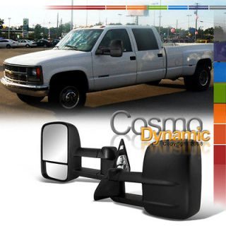 CHEVY 88 00 C/K 2500 C10 TRUCK TOWING MIRRORS PAIR MANUAL
