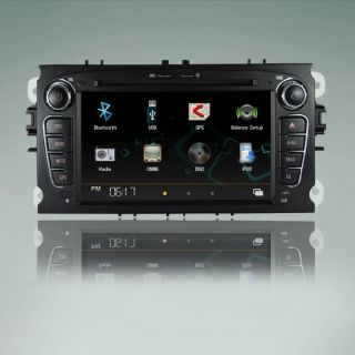 Car DVD Player USB GPS for 2008 2011 Ford C MAX S MAX Focus Mondeo/7K2