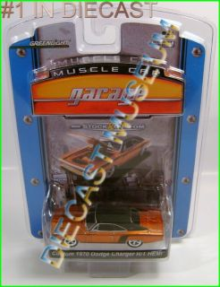 1970 70 DODGE CHARGER R/T CUSTOM MUSCLE CAR GARAGE DIECAST