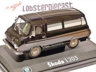 SKODA 1203 HEARSE / FUNERAL CAR 1/43 scale model ABREX