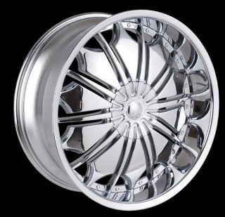 18 inch T706 chrome wheels rims Lincoln Continental LS