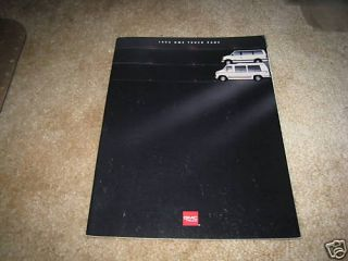 1994 GMC Safari Minivan Vandura Full size Van sales brochure dealer