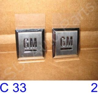 New Chevy GMC Cadillac Mark Emblems Badge GM Logo Decal OEM GM (C33