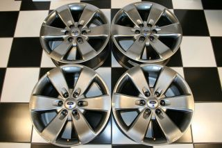 FORD F150 EXPEDITION CHARCOAL 20 FACTORY WHEELS / RIMS 3833 #3 (Set