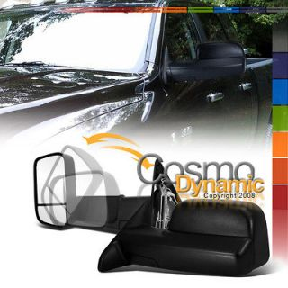 02 08 RAM 1500 TRUCK POWER MANUAL TOWING FOLD OUT MIRRORS 2500 3500