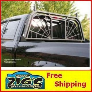 Black Widow Headache Rack for 1999 2012 Ford F 250/F 350 Super Duty