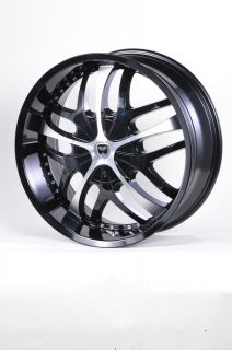 GWG G19 20 GLOSS BLACK WHEELS RIMS FORD EDGE ESCAPE FREESTAR