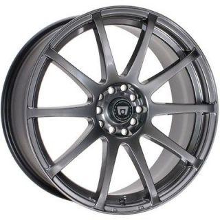 Wheels Rims Hyper Black Ford Fusion 500 Mustang Flex Edge 5 Lug 5x4.5