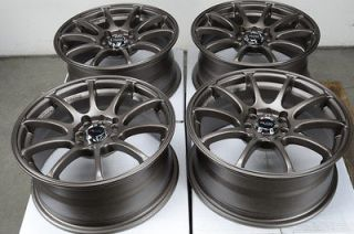 16 4x100 4x114.3 Bronze Effect Wheels Sephia Cobalt Accord Tiburon