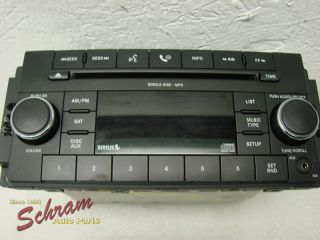 Jeep Liberty 08 09 Radio CD Player  AM FM OEM RES 68021163AD
