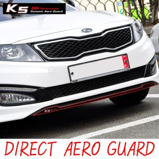 Hood Bumper Direc Aero Guard Sicker Red 1P For 11 12 Kia Opima K5