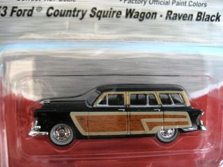 Mini Metals (187)HO   1953 Ford Country Squire (RavenBlack) #30253