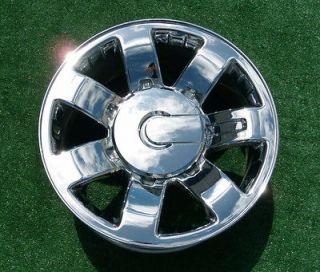 GM OEM FACTORY Chrome 20 inch WHEELS Chevy GMC 2500HD 2500 HD Sierra