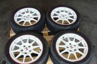 JDM Honda Integra ITR DC2 Rims wheels with Tires Type R OEM civic