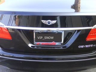Hyundai Genesis V8 Sedan OEM Winged Trunk Emblem from MD,USA 2 3