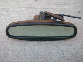 02   05 FORD EXPLORER MOUNTAINEER REAR VIEW REARVIEW MIRROR AUTO DIM