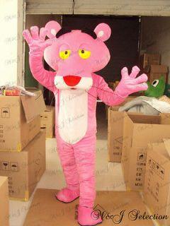 Pink Panther Cartoon Mascot Costume Fancy Dress