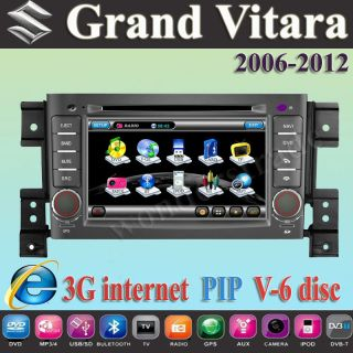 Car DVD player with GPS for SUZUKI GRAND VITARA 2006 2011
