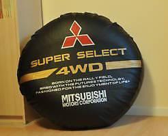 Spare Wheel Tyre Tire Cover Mitsubishi Montero Pajero Shogou Free