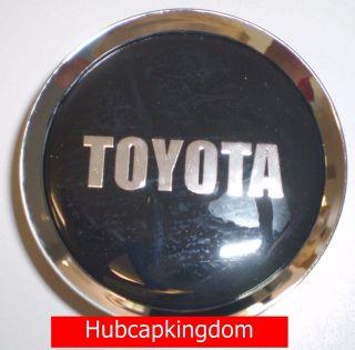 TOYOTA AVALON RAV4 CAMRY SIENNA Wheel Center Cap CHROME/BLACK (Fits