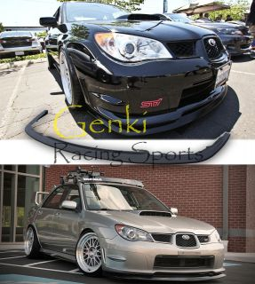 Subaru Impreza WRX STI S204 Spec C Front Bumer Lip Kit Spoiler JDM