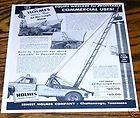 75 Ernest Holmes 480 wrecker tow truck 8ton 4p brochure
