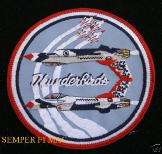 16 FALCON THUNDERBIRDS US AIR FORCE PATCH NELLIS AFB
