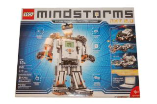 NEW LEGO MINDSTORMS NXT 2.0 ROBOTIC ROBOT KIT INVENTION SYSTEM 8547