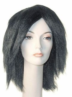 UNISEX AFRICAN NATIVE AFRO AMERICAN TRIBAL BLACK WIG WIGS COSTUME