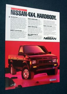 nissan hardbody 4x4 in Parts & Accessories
