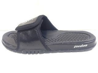 MENS NIKE JORDAN HYDRO 2 Black Silver 312527 001 Sandal slipper slide
