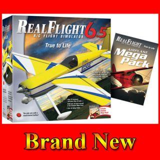RealFlight G6.5 Airplane RC Flight Simulator Mode 2 w/Mega Pack Real