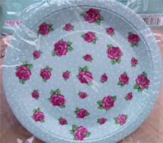 Astounding Vintage Rose Paper Plates Images - Best Image Engine ...