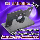 Flip Stand Leather Cover Case 360° Rotating for Acer Iconia Tab A500